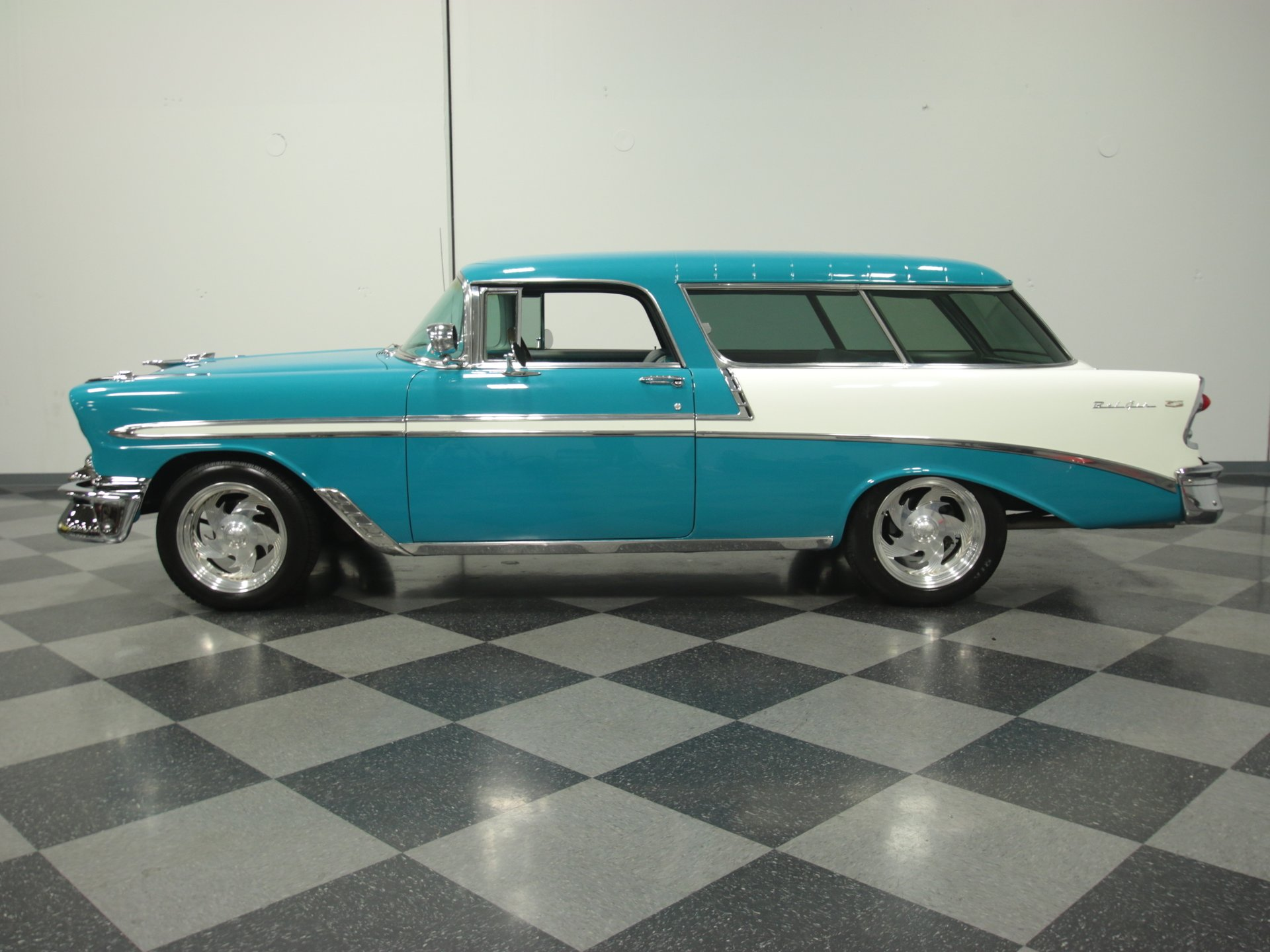 1956 chevrolet nomad restomod