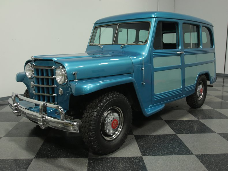 For Sale: 1951 Willys Station Wagon