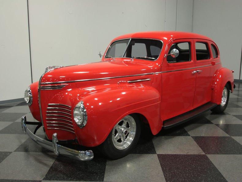 For Sale: 1940 Plymouth Sedan