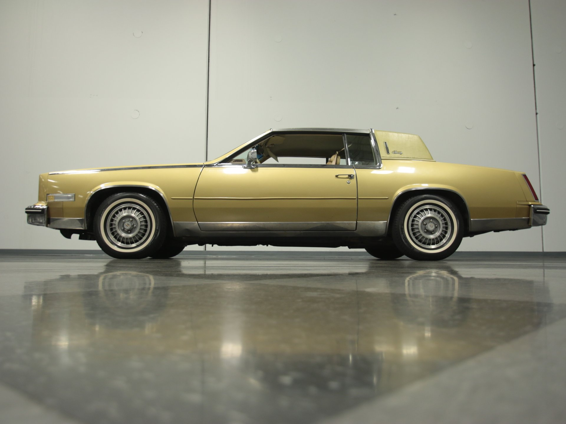 Image result for 1985 Cadillac Eldorado gold