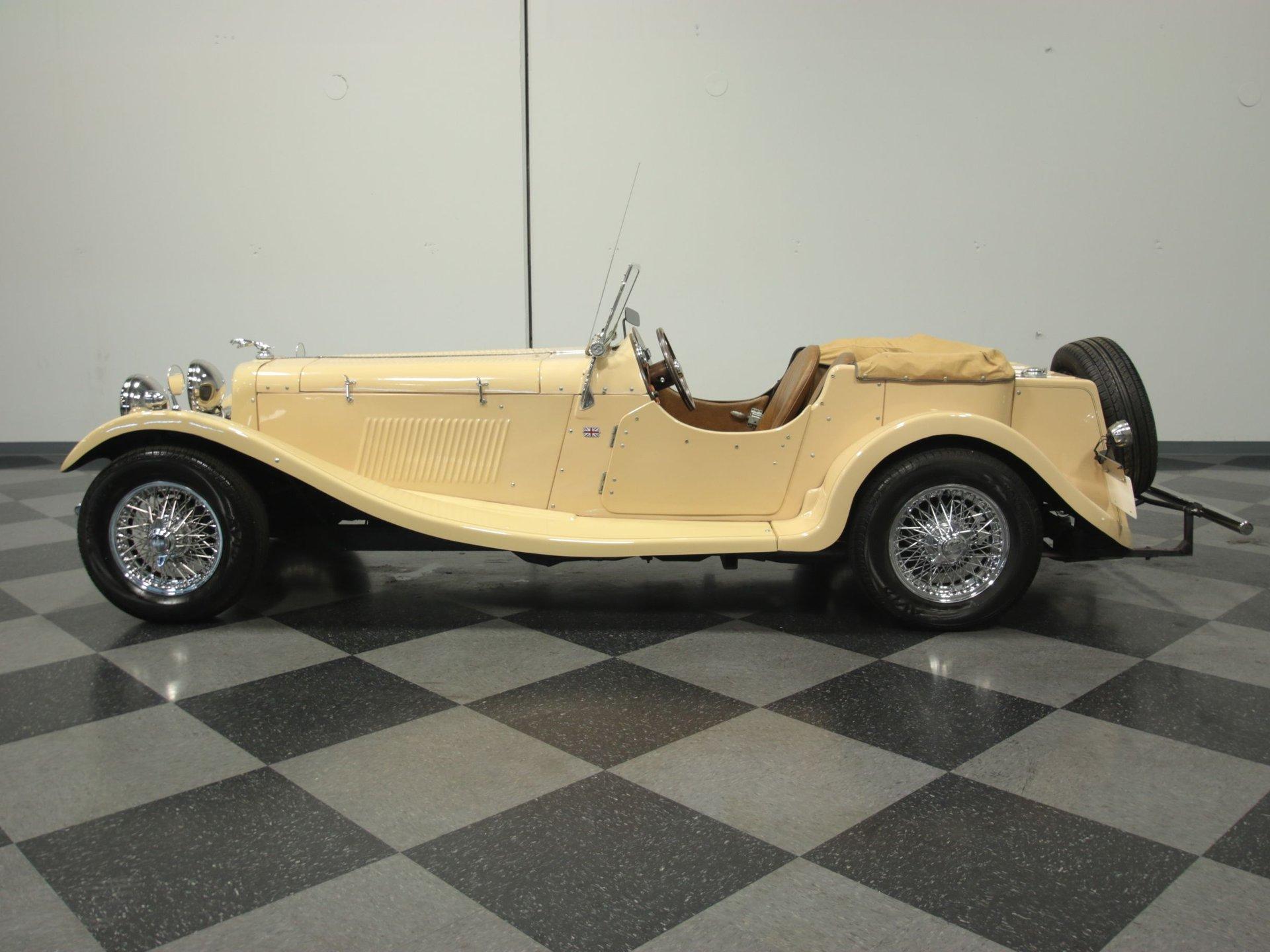 1982 jaguar ss100 replica