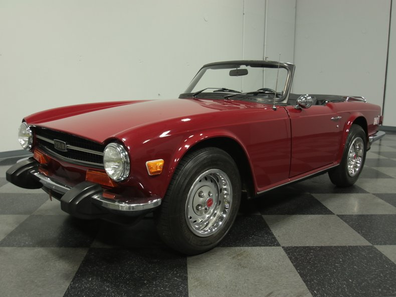 For Sale: 1974 Triumph TR-6