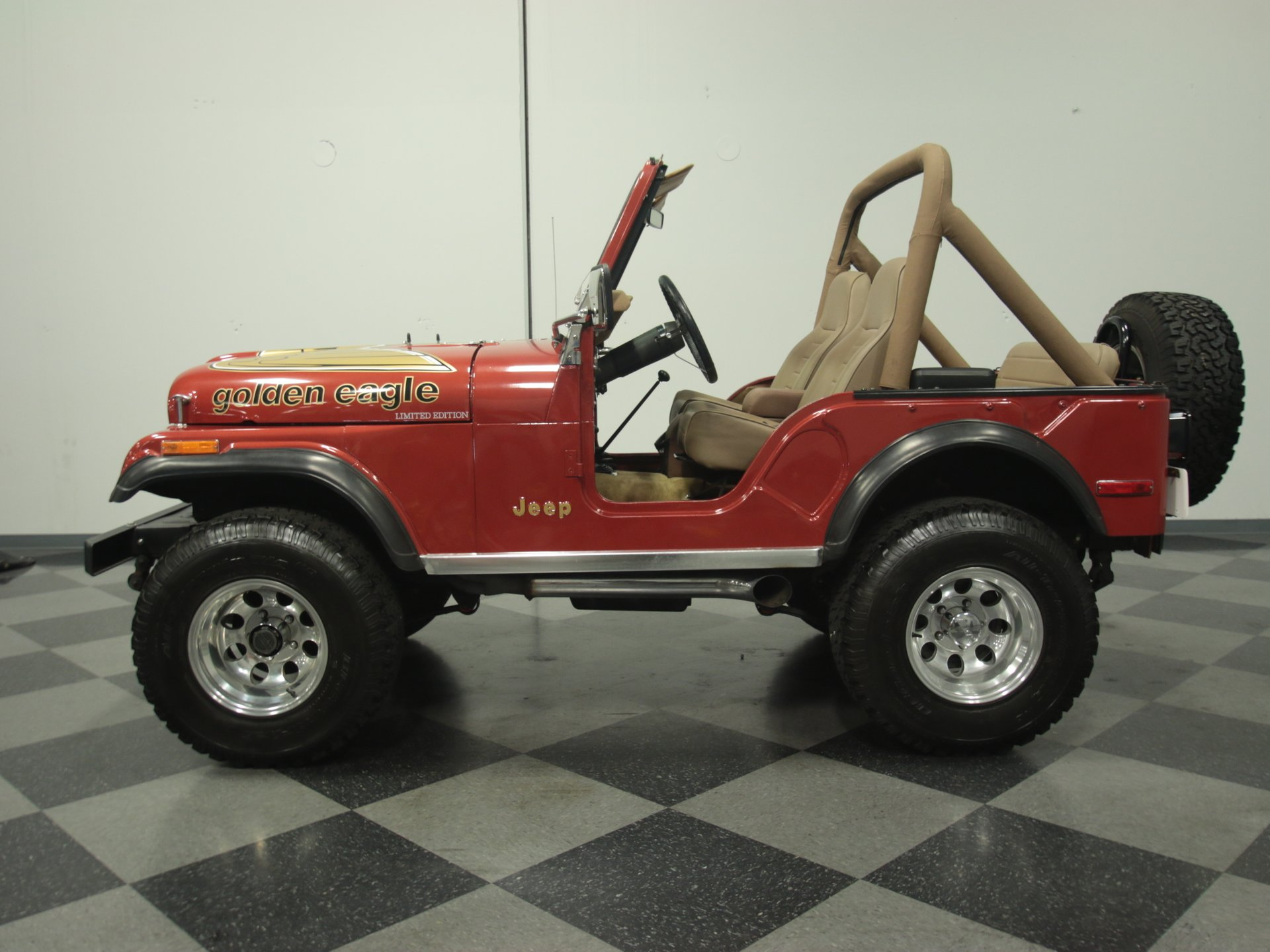 1977 jeep cj5 golden eagle