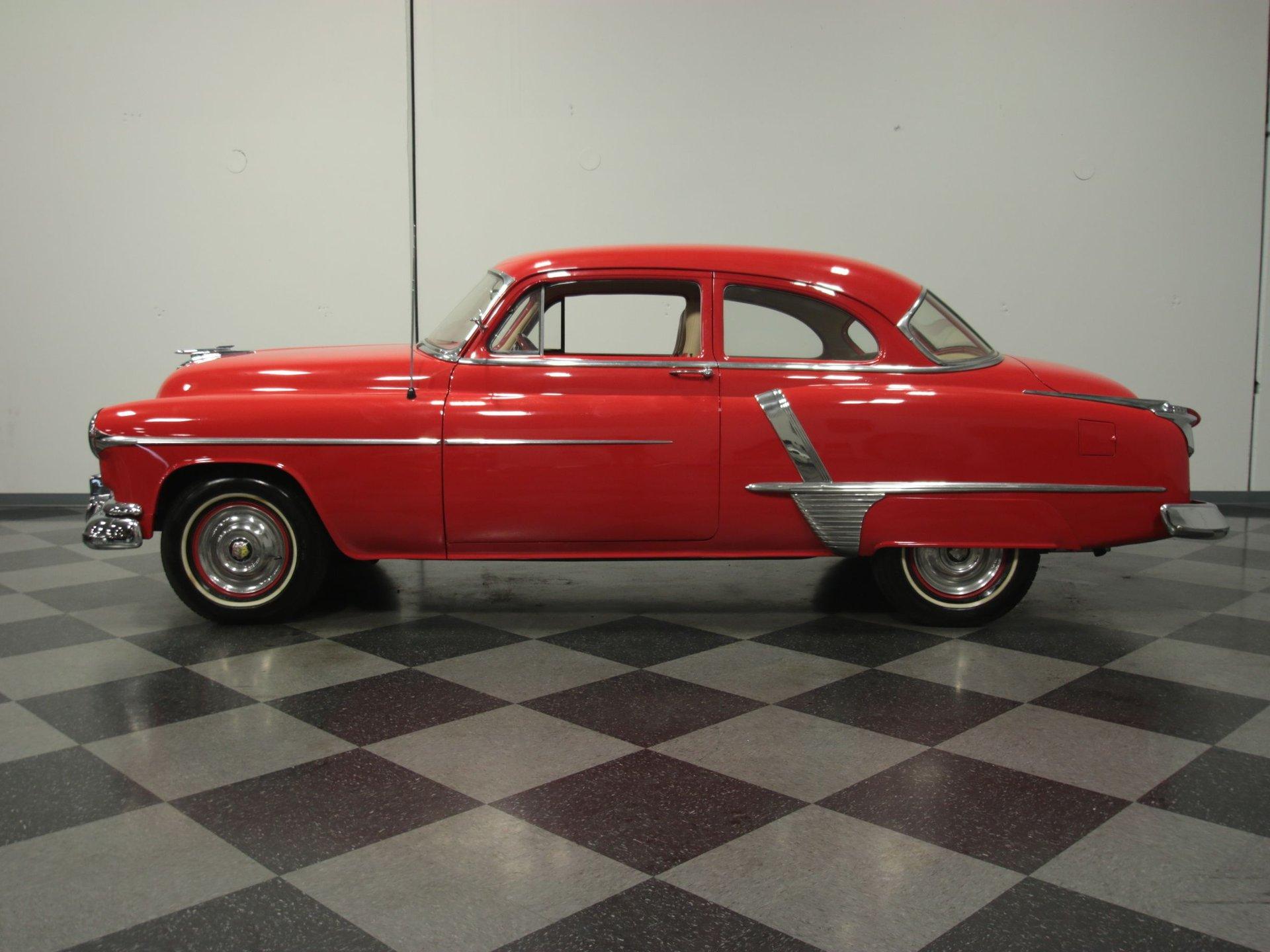 1951 oldsmobile 2 door sedan