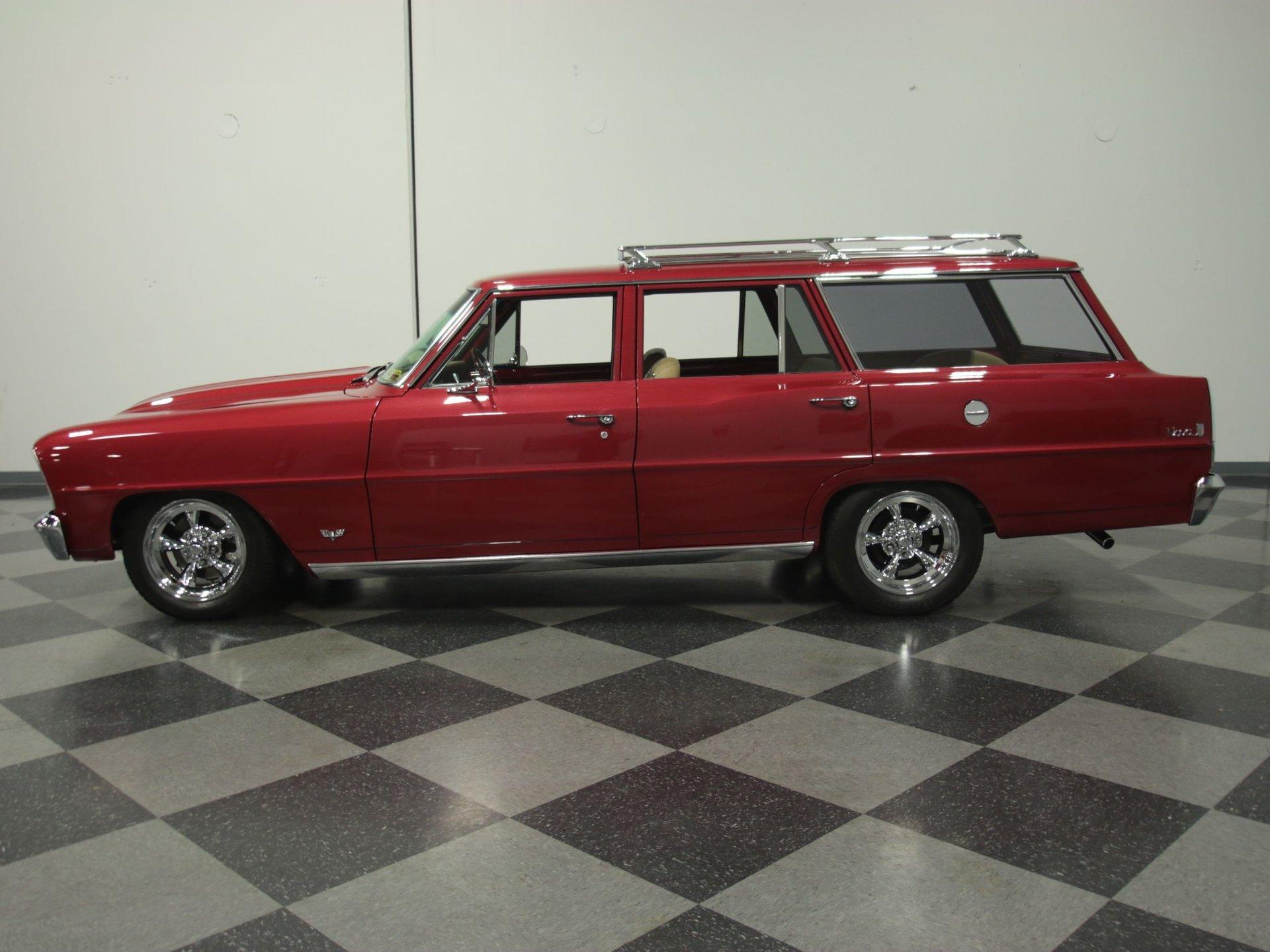 1966 chevrolet nova chevy ii restomod wagon