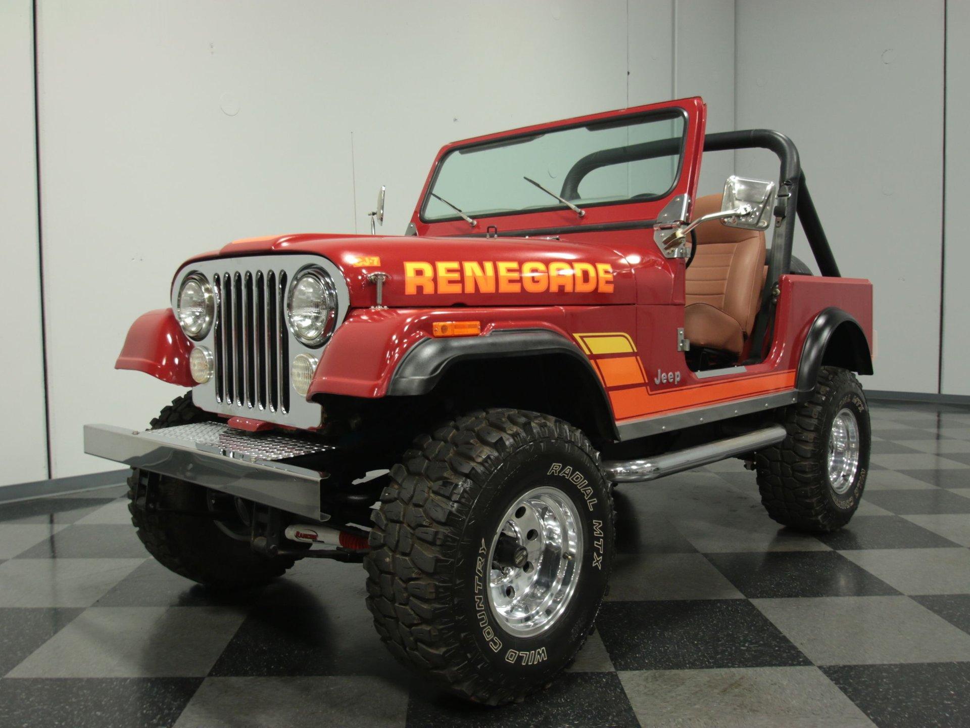 1981 jeep cj7 renegade