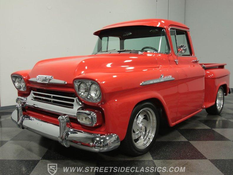 For Sale: 1958 Chevrolet Apache