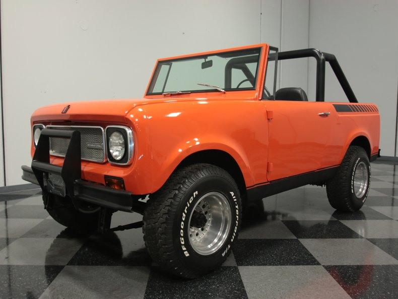 For Sale: 1969 International Scout