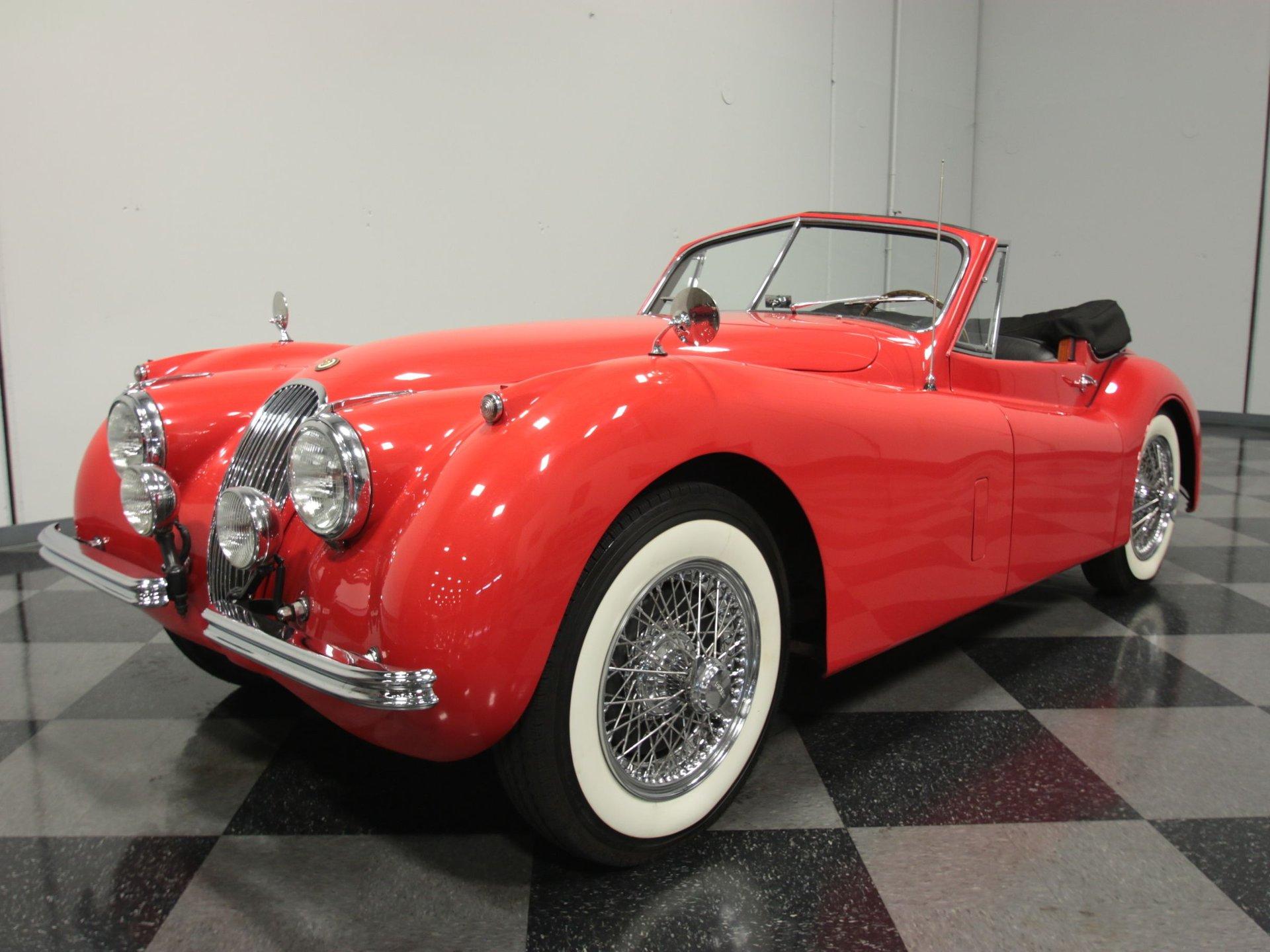 1954 jaguar xk 120 se dhc roadster