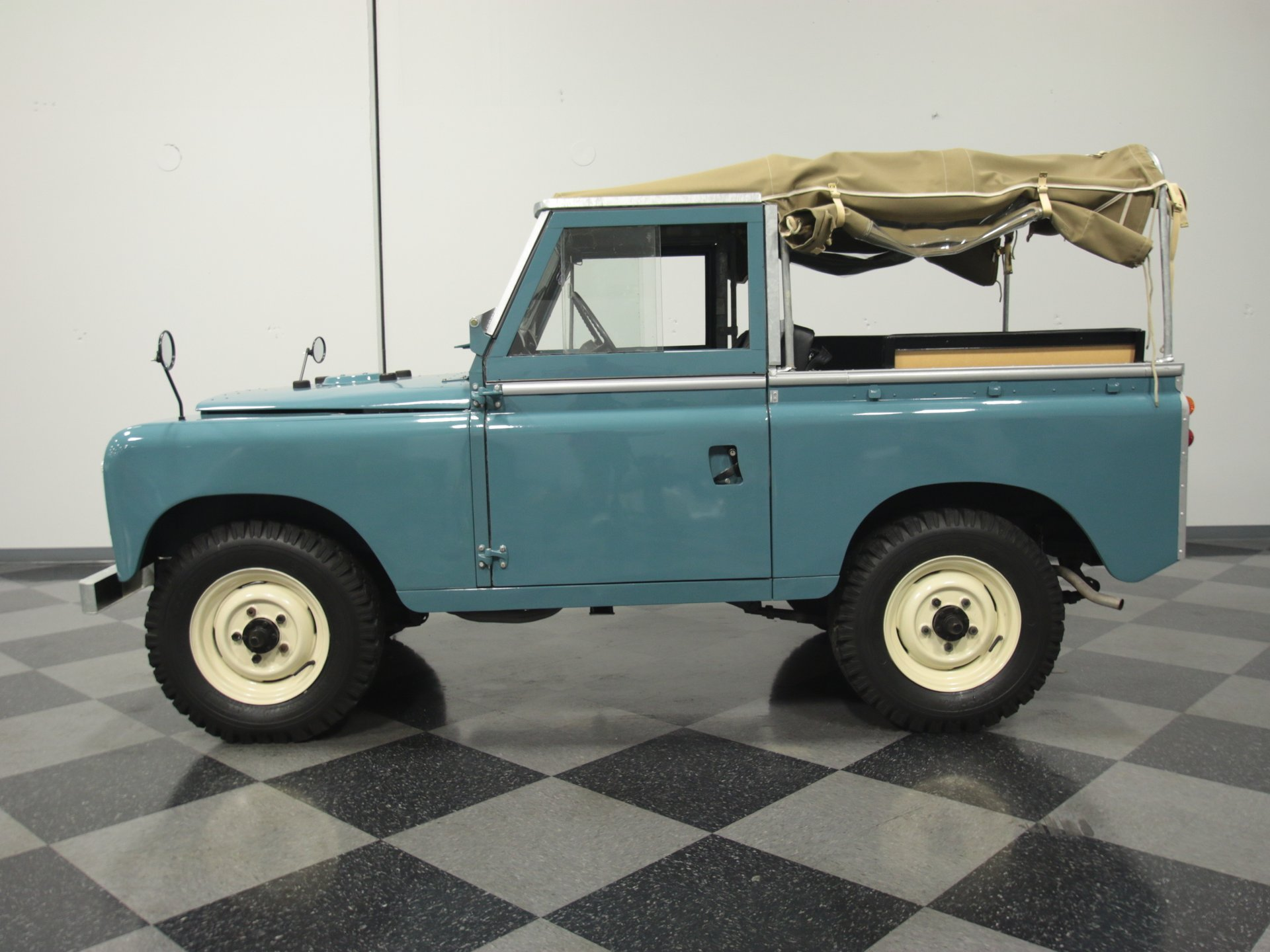 1969 land rover series iia defender 88