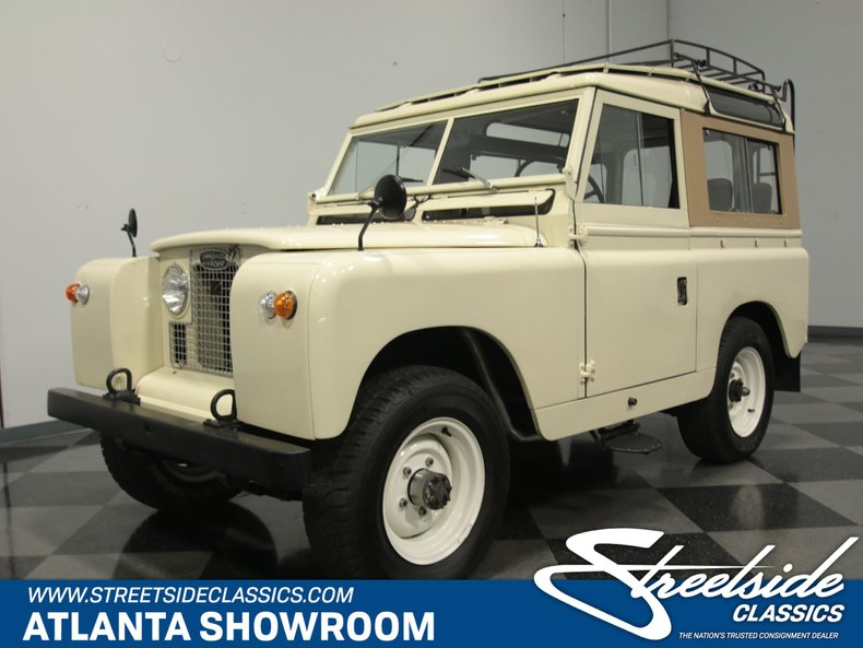 For Sale: 1968 Land Rover Series IIA