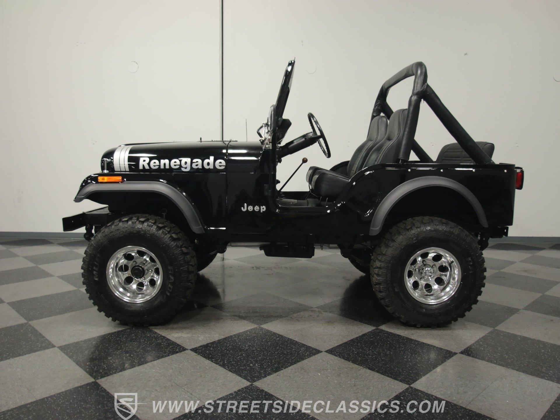 1977 jeep cj5 renegade