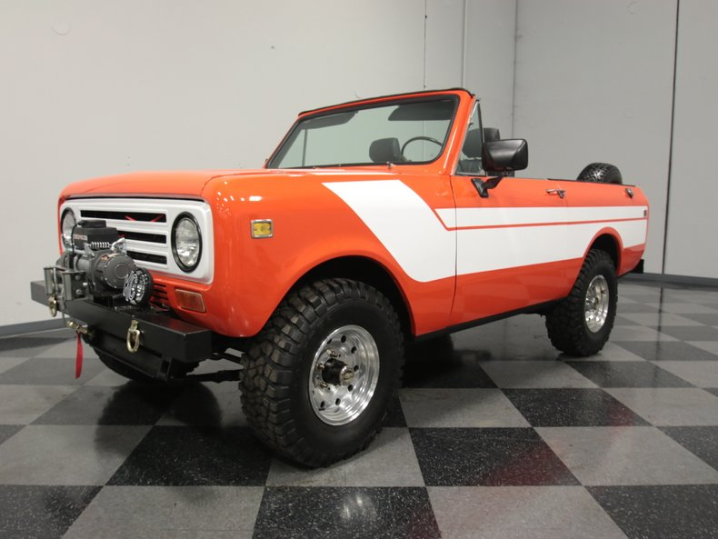 For Sale: 1977 International Scout II
