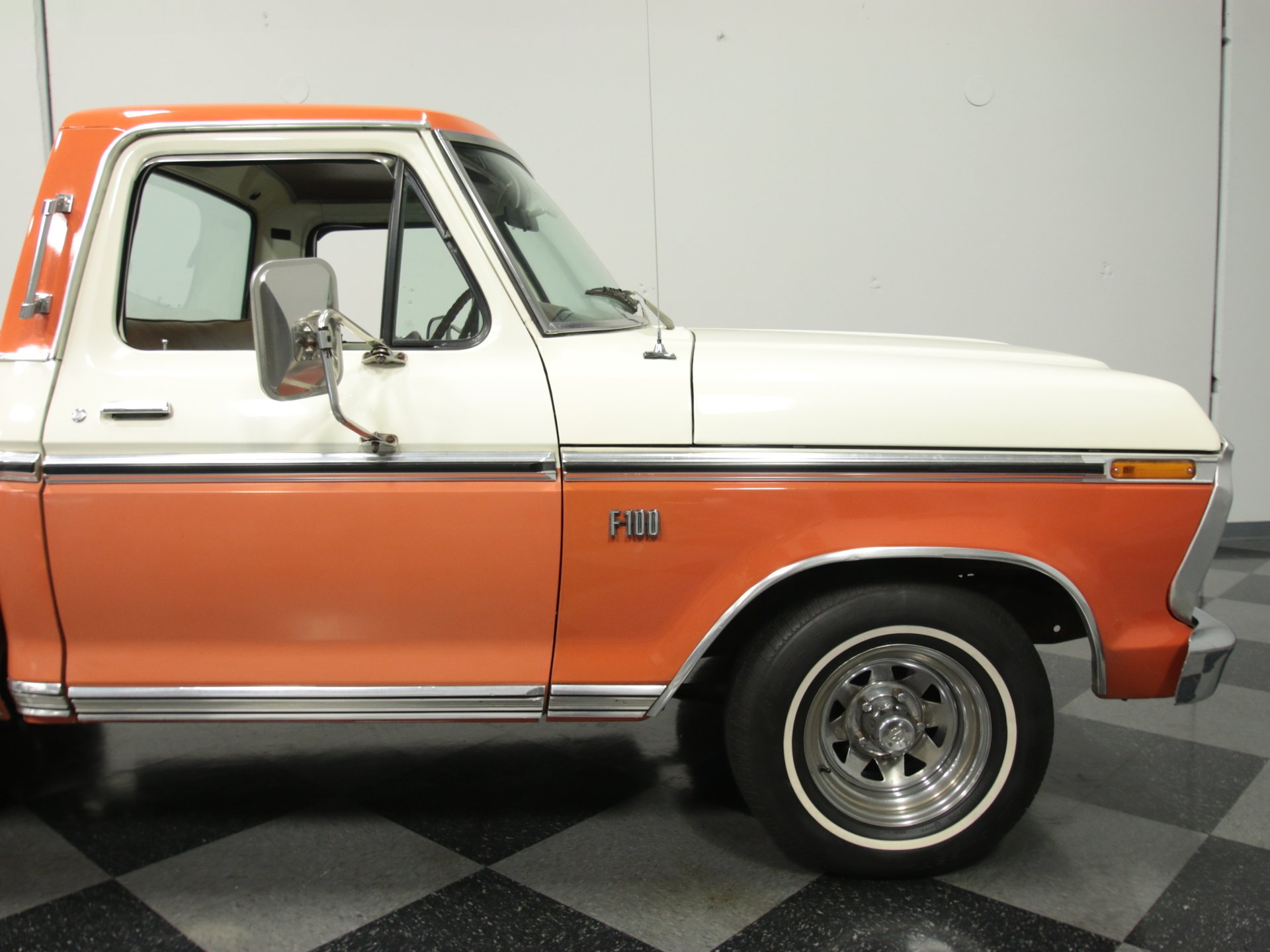 1974 Ford F 100 Streetside Classics The Nations Trusted Classic 1961 F100 Pro Street View 360
