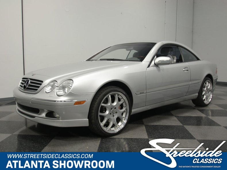 For Sale: 2002 Mercedes-Benz CL500