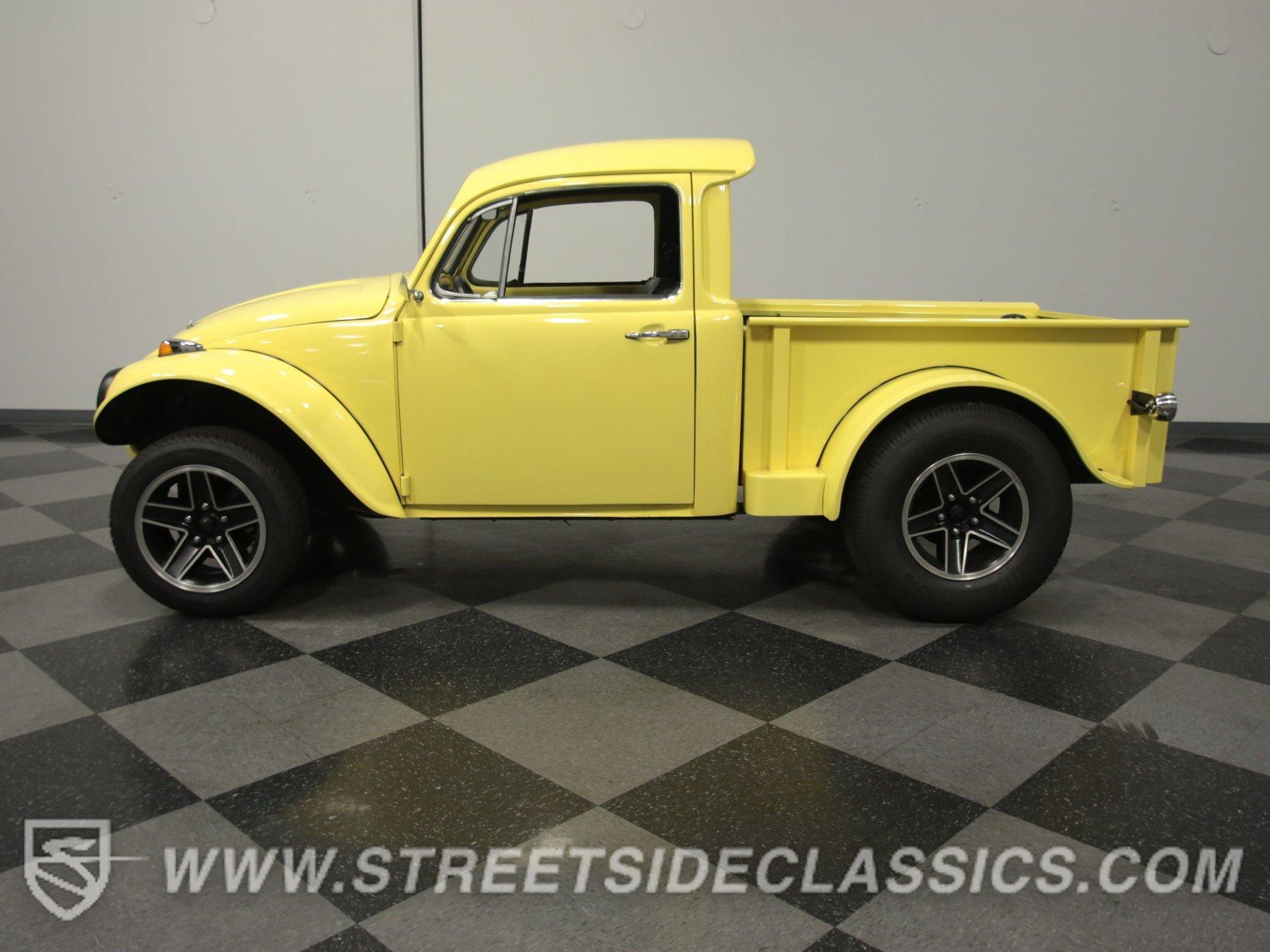 1970 volkswagen baja beetle truck