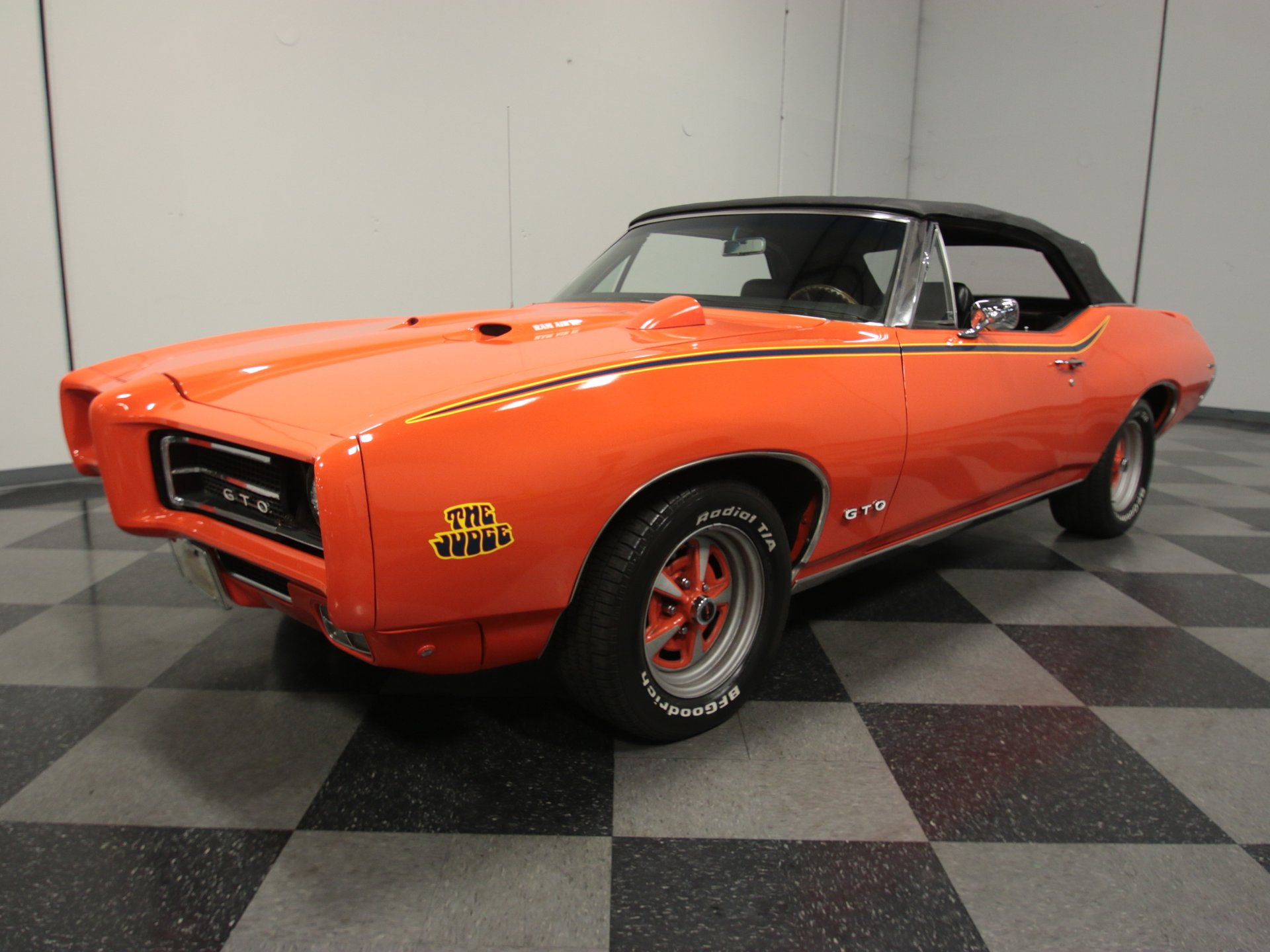 1968 pontiac le mans gto judge tribute