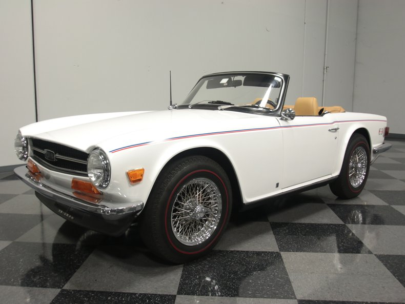 For Sale: 1972 Triumph TR6