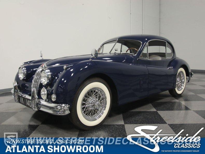 For Sale: 1957 Jaguar XK140