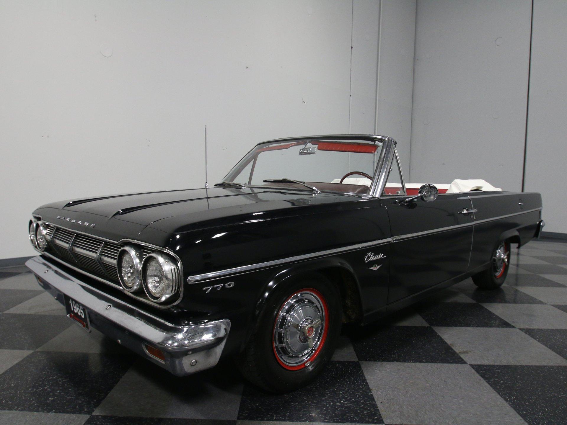 1965 amc rambler classic 770