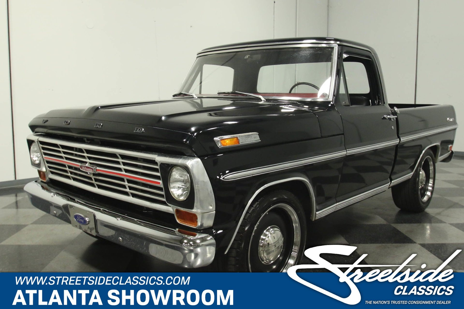 1969 Ford F 100 Classic Cars For Sale Streetside Classics The Nation S 1 Consignment Dealer