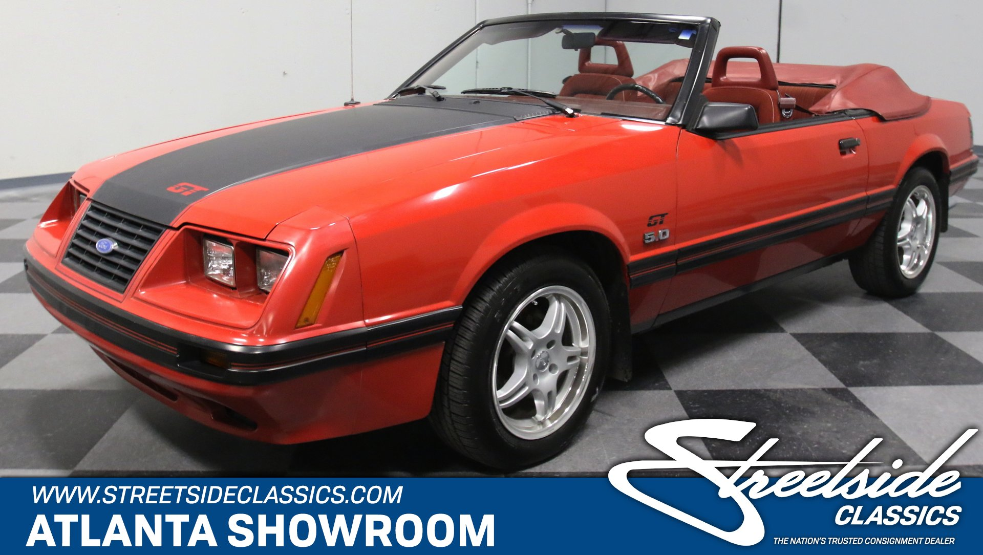 1984 ford mustang gt convertible