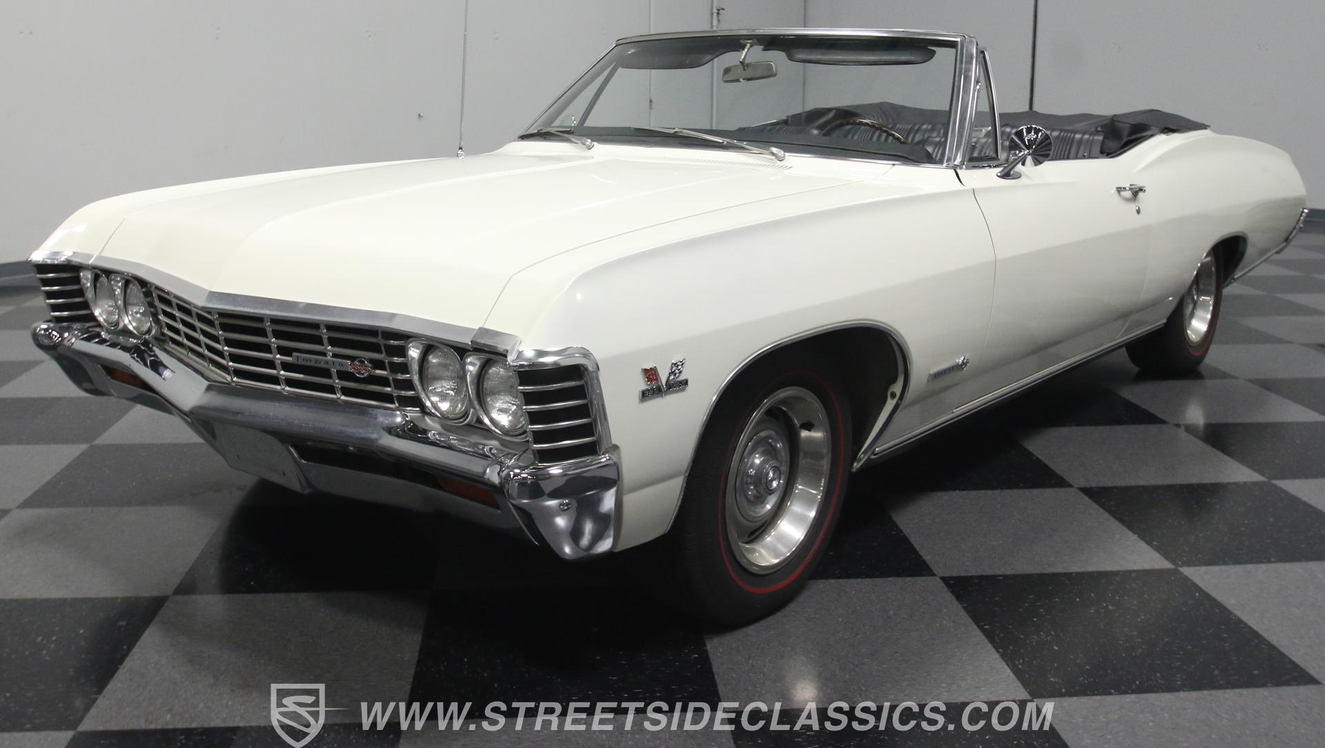1967 chevrolet impala ss 396