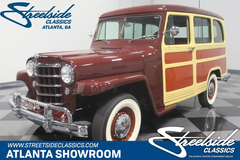 1950 Willys Station Wagon | Streetside Classics - The Nation's