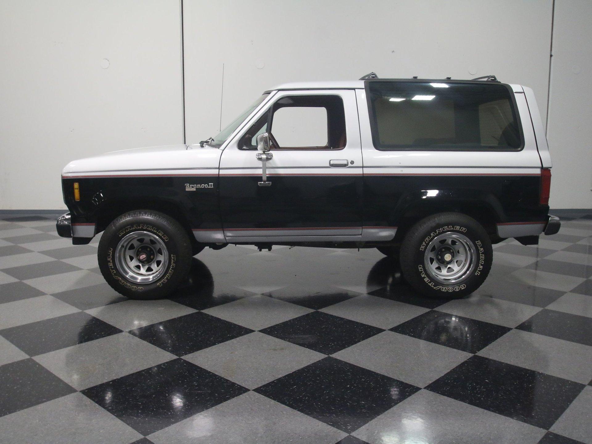 1987 ford bronco ii 4x4