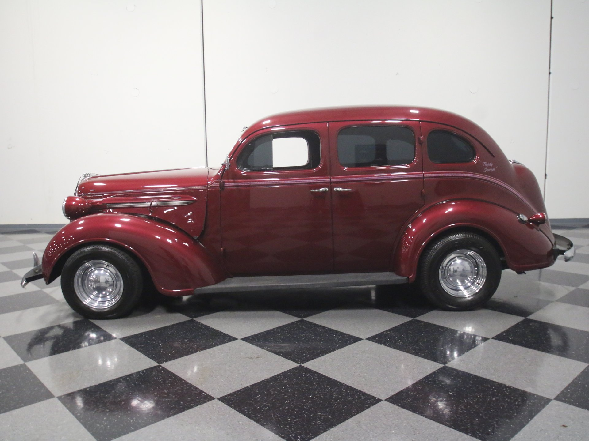1937 plymouth p4 deluxe