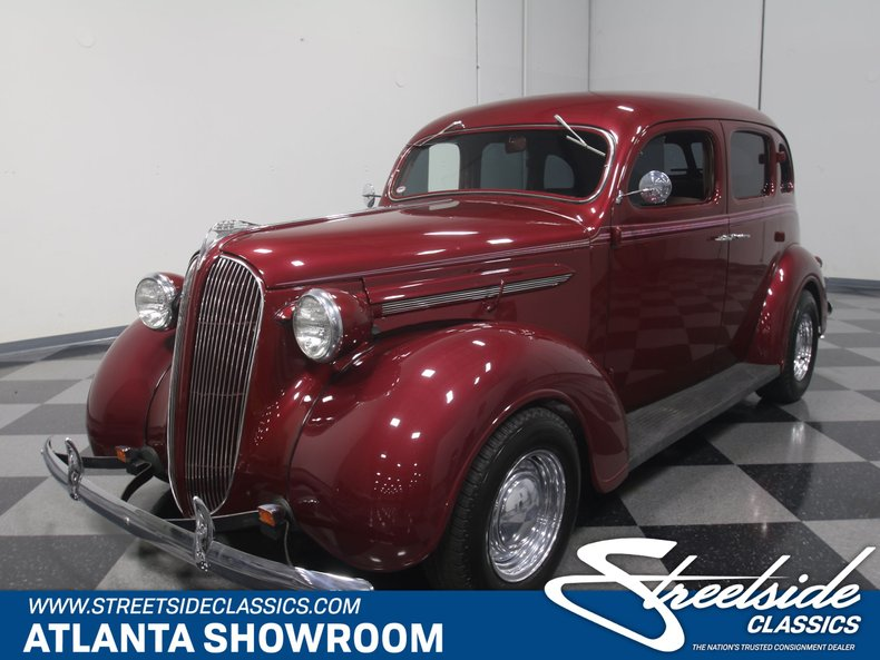 For Sale: 1937 Plymouth P4 Deluxe