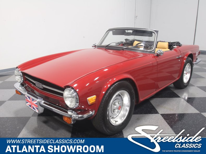 1976 Triumph Tr6 Streetside Classics The Nations Trusted