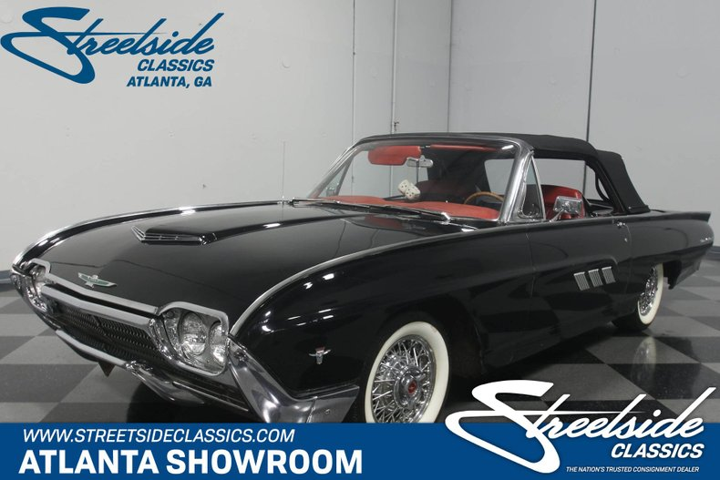 1963 Ford Thunderbird Streetside Classics The Nation S Trusted