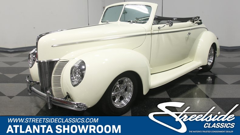 For Sale: 1940 Ford Cabriolet