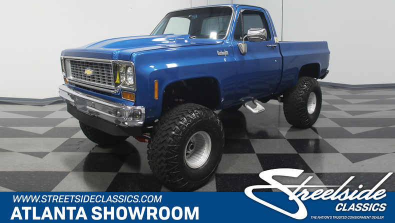 1973 Chevy Truck >> 1973 Chevrolet K 10 Streetside Classics The Nation S