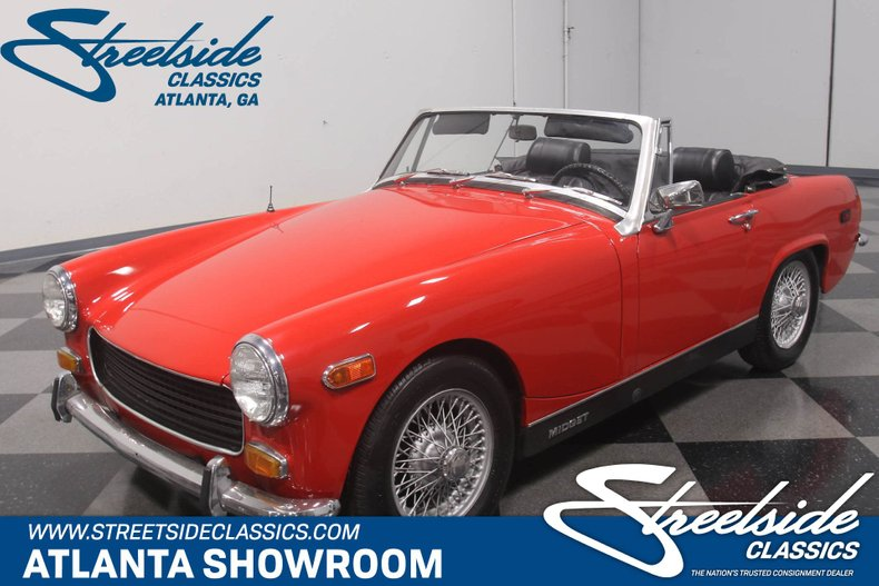 For Sale: 1970 MG Midget