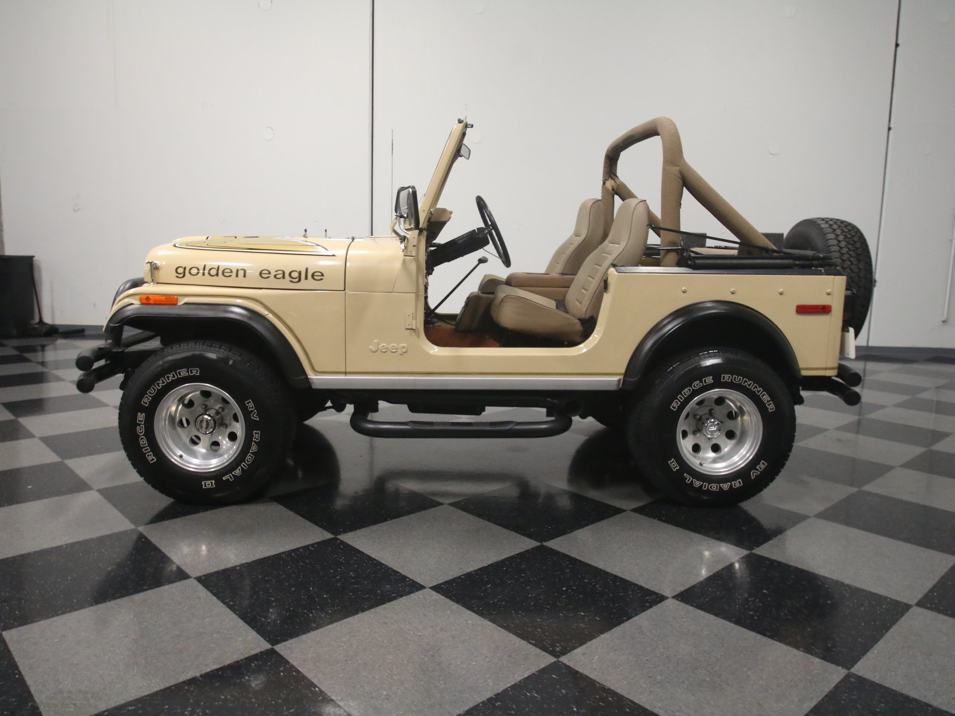 1978 jeep cj7 golden eagle