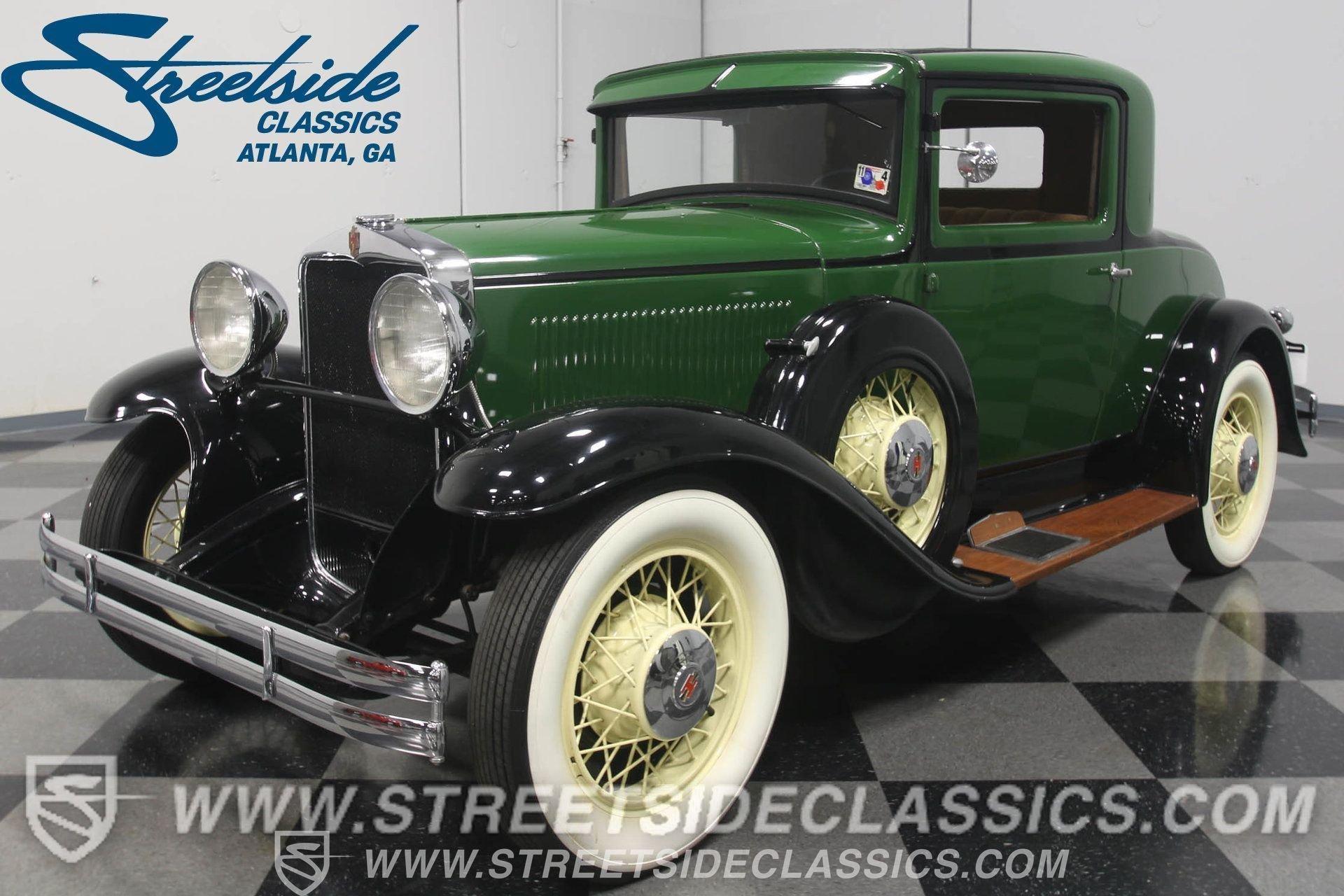 1931 hupmobile coupe