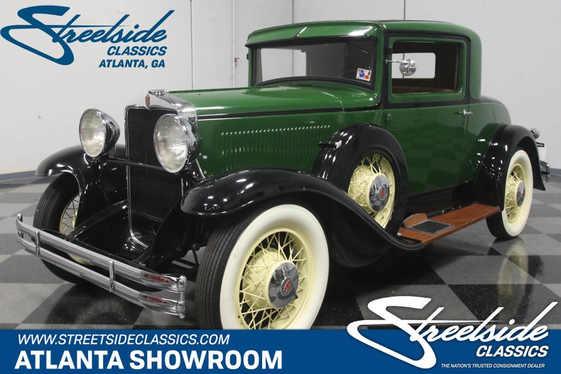 For Sale: 1931 Hupmobile Coupe