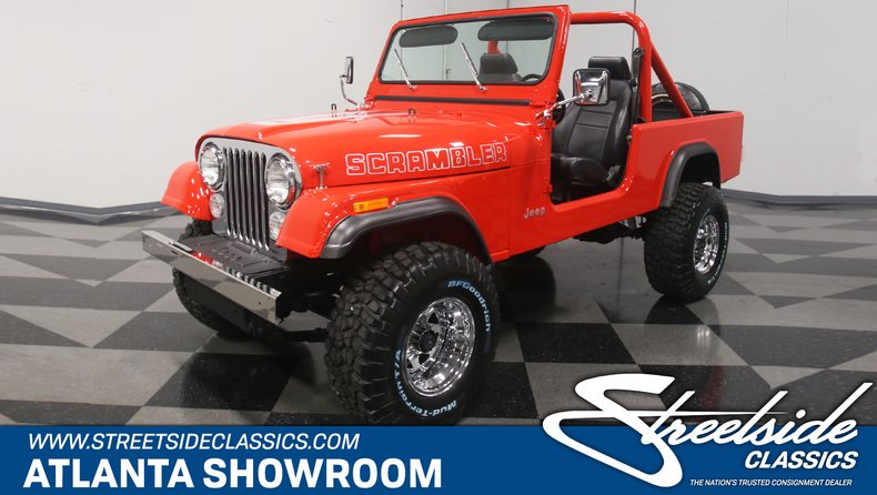 For Sale: 1985 Jeep CJ8