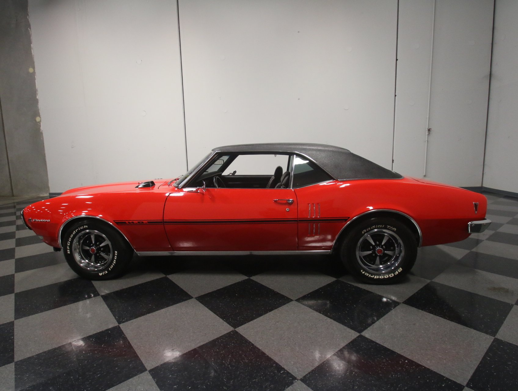 1968 pontiac firebird restomod
