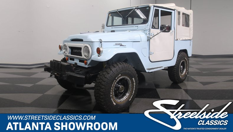 For Sale: 1965 Toyota FJ40