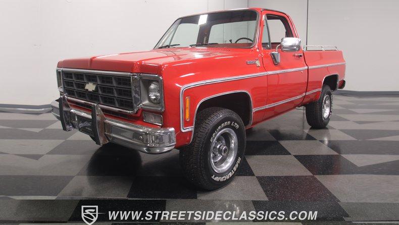 For Sale: 1977 Chevrolet K-10