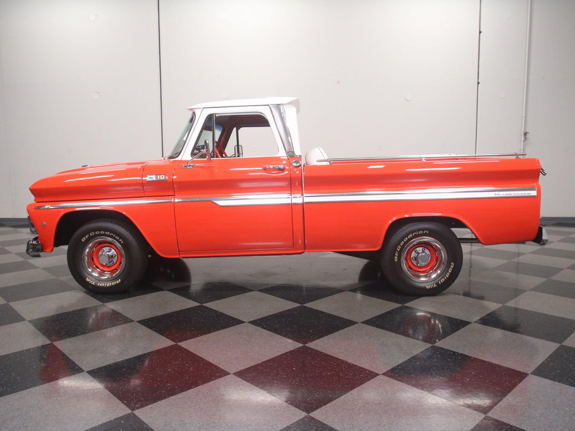 1965 chevrolet c10 custom deluxe