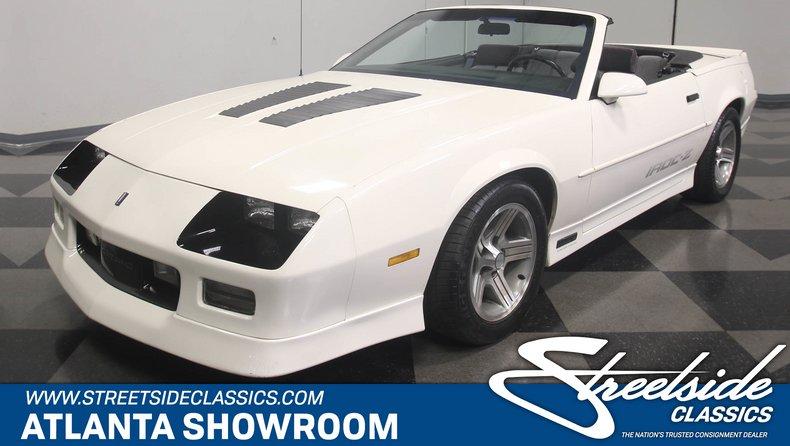 For Sale: 1990 Chevrolet Camaro