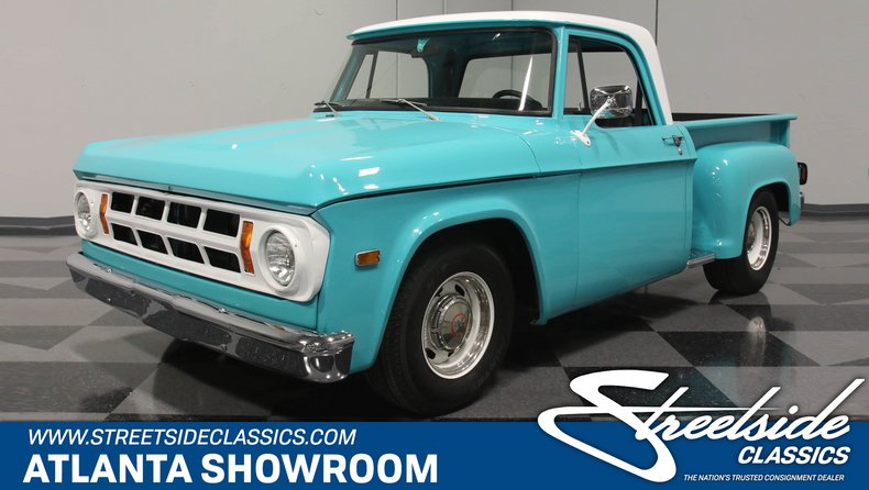 For Sale: 1971 Dodge D100