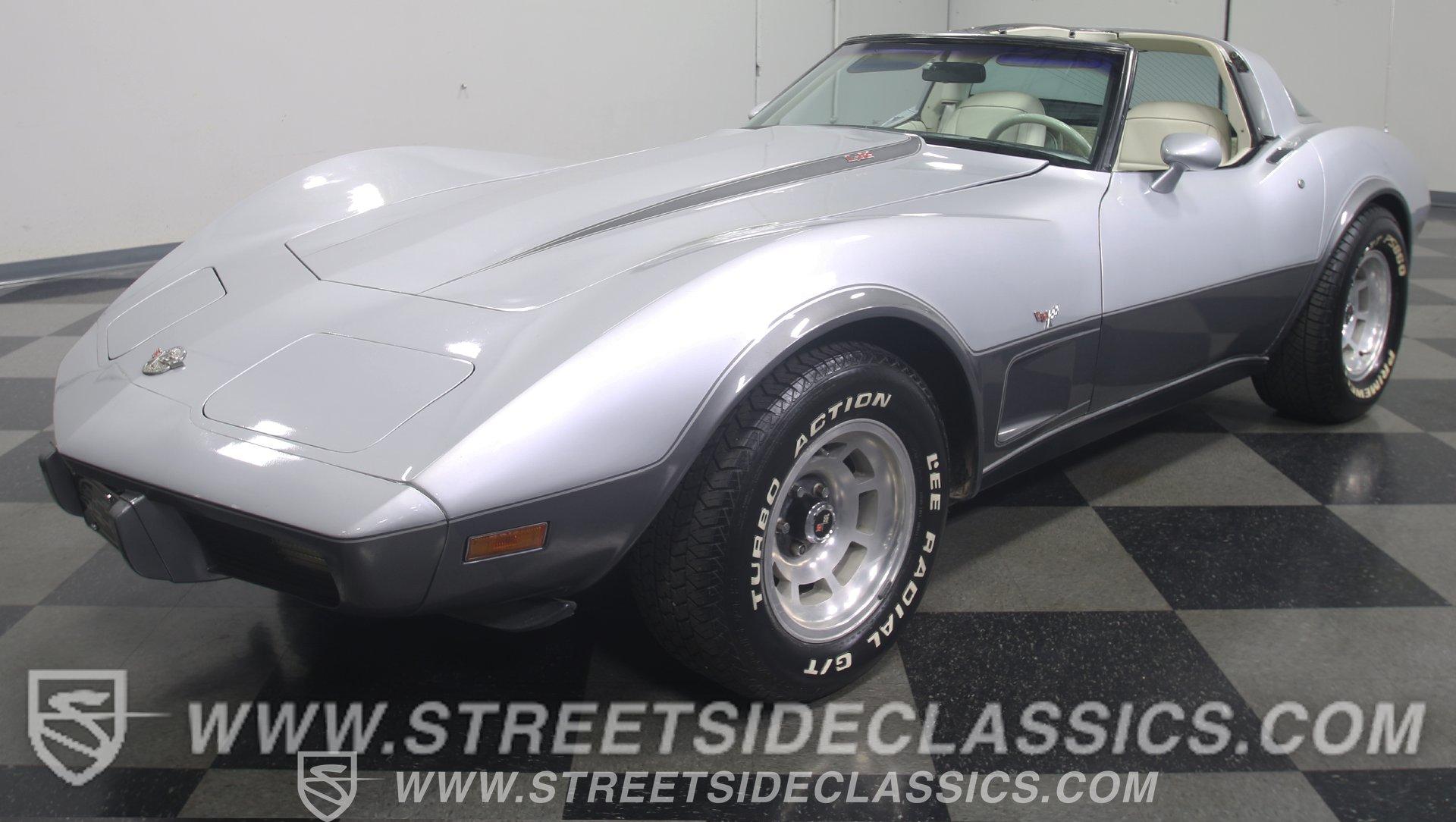 1978 chevrolet corvette 25th anniversary