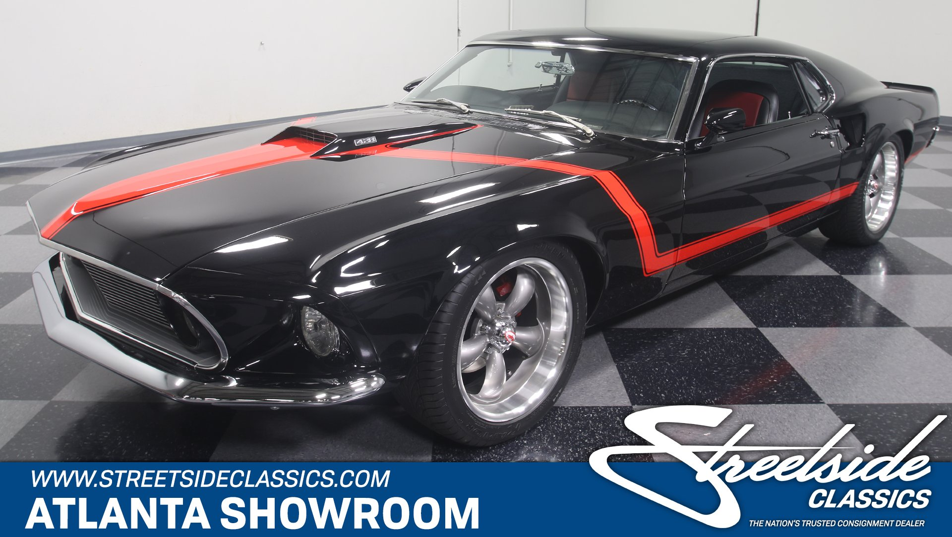 1969 Ford Mustang Fastback Restomod for sale #111841 | Motorious