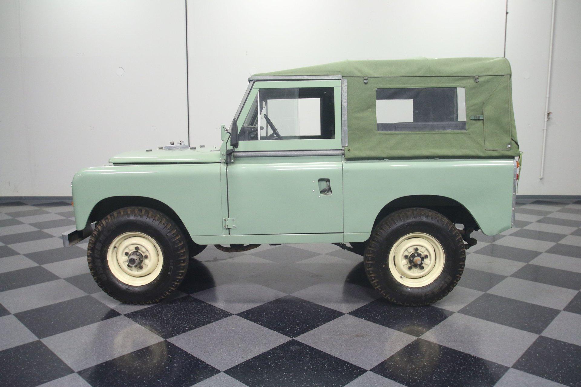 1980 land rover series iii santana