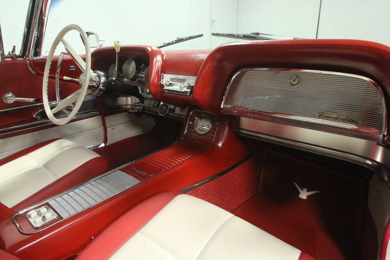 1960 Ford Thunderbird 55